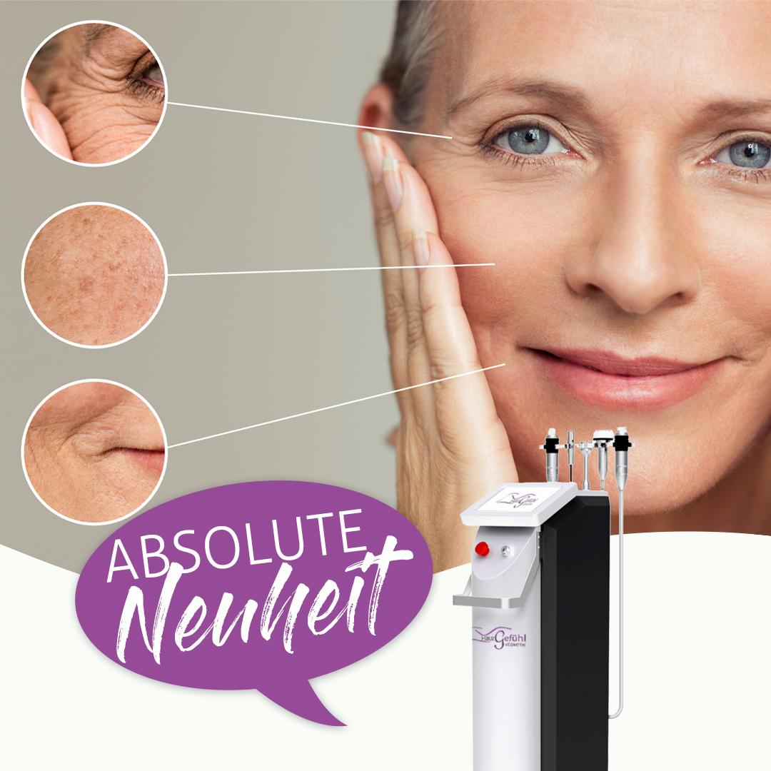 Hautgefühl Seeboden Radiofrequenz Needling Anti Age Akne Narben Behandlung